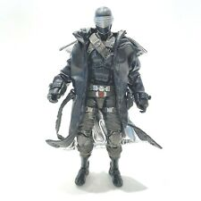 """SU-LTC-SE: Deluxe Black Wired Trench Coat for 6"""" GI Joe Snake Eyes (No Figure)"""