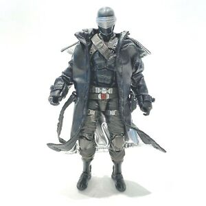 "SU-LTC-SE: Deluxe Black Wired Trench Coat for 6"" GI Joe Snake Eyes (No Figure)"