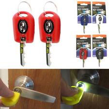 2 Key Cover LED Bright Light Keychain Torch Flashlight Keyring Case Cap New !