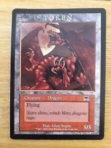 Magic The Gathering Cards - Onslaught - Dragon Token