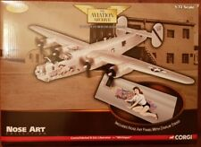 "Corgi Aviation Nez Art B-24J Liberator ""Michigan"" 64th BS/43rd BG US34011 1:72"