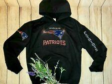 New Women's New England Patriots Hoodie Sweatshirt Sz XL Rhinestones Bling