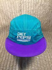 Vintage Diet Pepsi Nylon Hat Retro Uh HUH! Adjustable