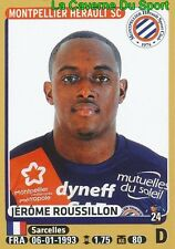 276 JEROME ROUSSILLON # MONTPELLIER.HSC FC.SOCHAUX STICKER PANINI FOOT 2016