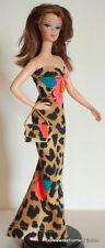 Silkstone Model Muse Barbie Dress Gown Animal Floral USA Seller Handmade #B58