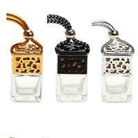 Air Freshener Perfume Car Hanging Bottle Ornament For Essential Oils Diffuser