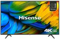 "43"" 4K HDR Ultra HD Smart DLED TV with Freeview HD - HISENSE"