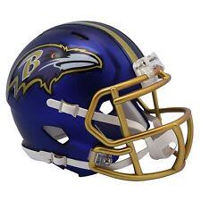 NFL Baltimore Ravens Blaze Alternate Speed Mini Helmet Unisex Fanatics