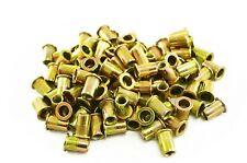 Astro Pneumatic Tool RN6M M6 6mm Steel Rivet Nuts - Pack of 100