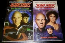 TWO STAR TREK Next Gen Books : #26 The Romulan Price & #27 Guises of the Mind