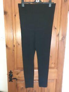 H&M size L (12/14) Black Maternity Leggings GC