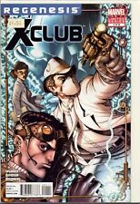 X-CLUB (2011) #1 Regenesis Marvel   Unused Stock  Bagged Boarded : HL7.262