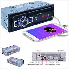 Auto Estéreo Audio MP3 Reproductor de Radio Bluetooth Altavoz Lector De Tarjetas Usb/sd/aux/mmc