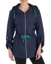Jones New York - Women's S - NWT $140 - Navy Packable Anorak Windbreaker Jacket