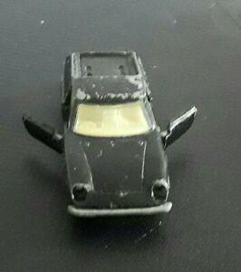 Matchbox Series No 5 Lotus Europa / Lesney Superfast Wheels 1969 / rear in Black