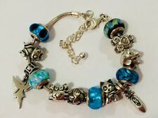 Authentic Lovelinks Petites Bracelet Murano Glass Charms Sterling Silver Charms