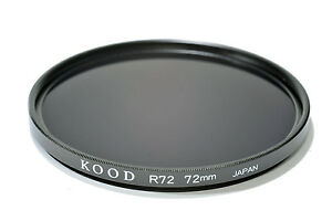 Kood High Quality 72mm R720 Infrared Special Effects Filter Made in Japan