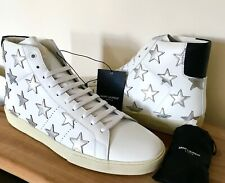 Saint Laurent YSL High Top Sneakers Size 43.5/9.5