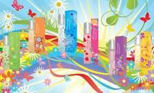 Fantasy Colours Perfume Set, 6x18ml EDP for Womwn, 6 beautiful fragrances