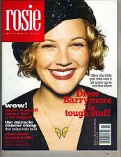 DREW BARRYMORE Rosie Magazine 11/01 TOUGH STUFF PC
