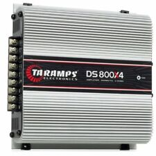 AUTHENTIC Taramps DS-800x4 4-Channels 2 OHM 800 Watts Class D Amplifier BRAZIL