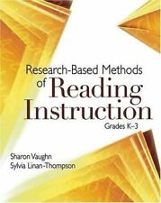 Research-Based Methods of Reading Instruction, Grades K-3 by Sharon Vaughn...