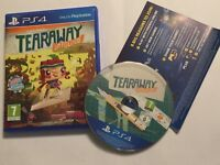 SONY PLAYSTATION 4 PS4 GAME TEARAWAY UNFOLDED +BOX & INSTRUCTIONS COMPLETE PAL