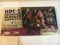 NPC-1 ZOMBICIDE: Black Plague Notorious Plagued Characters Multilingual