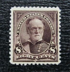 nystamps US Stamp # 257 Mint OG H $160   L23x1316