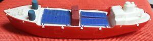 S.S. ELDON VINTAGE 1960'S ELDON'S BIG POLY TOYS CARGO SHIP