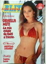 RIVISTA MAG ALBO CINEMA BLITZ N.29 1982 ORNELLA MUTI SOPHIA LOREN MICK JAGGER