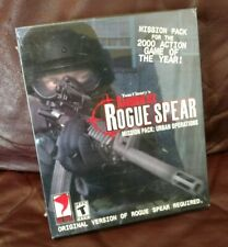 Tom Clancy's Rainbow Six Rogue Spear Mission SEALED NEW Big Box PC
