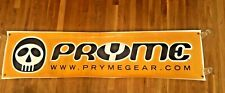 "Vintage Pryme Protective Gear BMX Bicycle Bike Store Dealer Vinyl Sign 18""x72"""