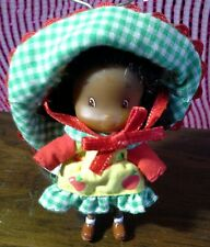 "Strawberry Shortcake 2 1/2"" Apple Orange Baby Doll American Greetings 1979 vtg"