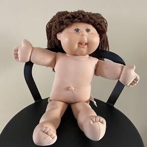 Brown Hair Brown Eyes Two Teeth Cabbage Patch Kids Doll