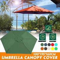 Umbrella Top Canopy Replacement Outdoor Sunshade Cover Garden  Patio UV Parasol
