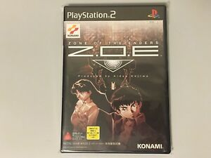 ZONE OF THE ENDERS Z.O.E. PLAYSTATION 2 AMERICA NTSC