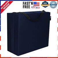 Tri Fold Mattress Floor Foam Mat Twin Light Weight Sleep Folding Mattresses