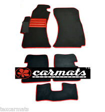Luxury Fully Tailored Carpeted Car Floor Mats STI fit Subaru Impreza 2007-2011