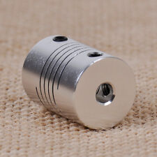 For Motor  Z Axes CNC Flexible 3D Printer Shaft Coupler Coupling 5mm x 8mm