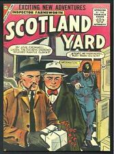Scotland Yard - cartolina moderna riproducente  copertina fumetto anni '50