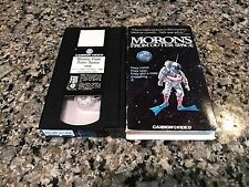 Morons From Outer Space VHS 1989 Punk Rock Lands To Earth! CJ7 Bad Taste Flubber
