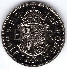 More details for 1970 2s 6d 2/6 silver half crown elizabeth ii - proof - uncirculated zz