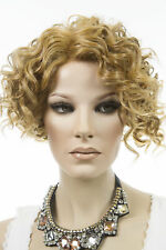 Piano Light Brown Platinum Redish Blonde Mixed Short Lace Front Vivica Fox Wigs