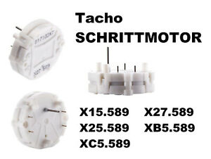 Schrittmotor NEU Stepper X15.589 X27.589 X25.589 XB5.589 XC5.589 589 Tacho Motor