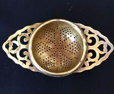 More details for manco plate antique art deco tea strainer