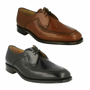 MENS LOAKE CALF LEATHER WELTED SOLE WORK FORMAL LACE UP SHOES SIZE FONTWELL