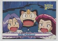 2000 Topps Pokemon The Movie #56 Hello Pokemon! Card g6w