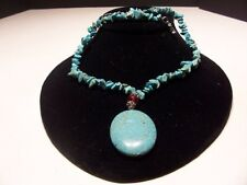 New, Beautiful WomensTurquoise Necklace with pendent
