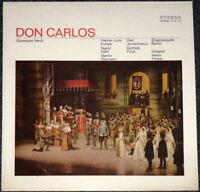 GIUSEPPE VERDI - Don Carlos - Klassik LP Schallplatte - Sammlerstück selten rar